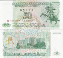 Transnistria  1993 - 50 Rublei - Pick 19 UNC - Bankbiljetten