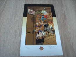 Ex Libris Signé Par Meynet Pour L'année 2005 - Ex-libris