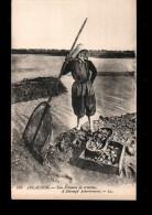 33 ARCACHON Types, Pecheuse De Crevettes, Métier, Ed LL 159, 192? - Arcachon