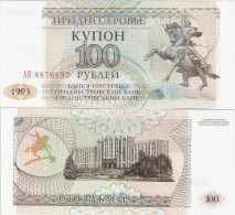 Transnistria  1993 - 100 Rublei - Pick 20 UNC - Bankbiljetten