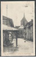 CPA 51 - Sainte-Menehould, Le Puits Et Rue Grande Du Château - Sainte-Menehould