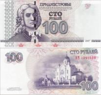 Transnistria 2007 - 100 Rublei - Pick 47 UNC - Banknoten