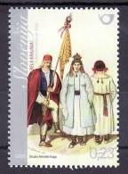 1243/ Slowenien Slovenia 2009 MiNr. 701 ** MNH Volkstracht National Costumes Bela Krajina - Slowenien