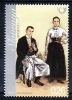 1330/ Slowenien Slovenia Slovenie 2010 Mi.No. 832 ** MNH Volkstracht National Costume From Prekmurje - Slowenien
