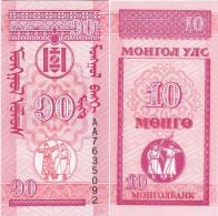 Mongolia 1993 - 10 Mongo - Pick 49 UNC - Mongolia