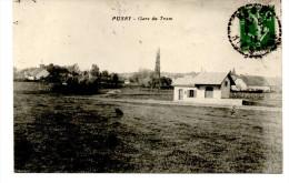 PUSEY HAUTE SAÔNE Gare Du Tram  . Chemin De Fer Tramway - France