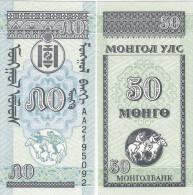 Mongolia 1993 - 50 Mongo - Pick 51 UNC - Mongolia