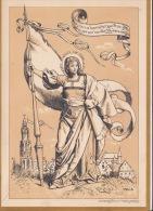 Rare Grand Menu Politique Victoire Des Députés Anvers 1880 Du Ministre Jacobs En Deux Volets - Menus