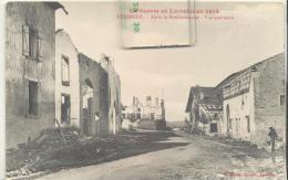 HERIMENIL - Aprés Le Bombardement - Vue Intérieure , Pli En Haut à Droite( Voir Scan ) - Francia