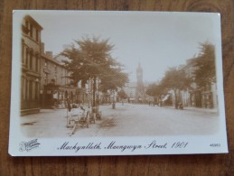 49204 REPRODUCTION POSTCARD: FRANCIS FRITH COLLECTION: WALES: MONTGOMERYSHIRE: Machynlleth, Maengwyn Street, 1901. - Montgomeryshire