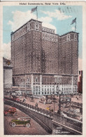 New York - Hotel Commodore - 1928 - With American Taxes And Belgian Taxes Stamps. - Central Park