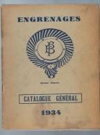 Catalogue Général Arbres De Roues Et Arbres De Transmission LF Magasins Tourangeaux De 1954 - Publicité