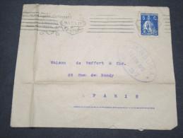 PORTUGAL - Enveloppe Pour La France En 1917 Avec Censure - Lot P12279 - 1910-... République