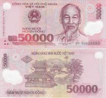 Vietnam ND (2009) - 50000 Dong - Polymer - Pick 121 UNC - Vietnam