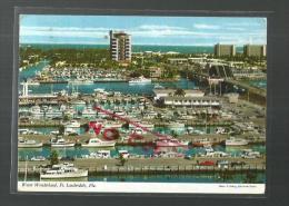 Cpm St000475 Le Port De Plaisance , Cabin Cruisersconcentration - Fort Lauderdale