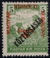 ~~~ Hungary 1919 - Szeged Overprint - Mi. 29 * MH OG ~~~ - Szeged