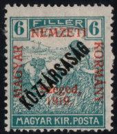 ~~~ Hungary 1919 - Szeged Overprint - Mi. 30 * MH OG ~~~ - Szeged