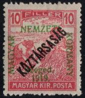 ~~~ Hungary 1919 - Szeged Overprint - Mi. 31 * MH OG ~~~ - Szeged
