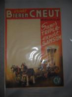 Affiche  Drink Bieren ( bier bi�re bi�res ) CNEUT  Wevelghem  Wevelgem  -  afm : 71 x 52 cm