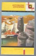 Cartoguide Shell Berre N°10 Auvergne Cévennes De 1959 - Cartes