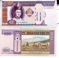 MONGOLIA 100 Tögrög  2008  P- 65 **UNC** - Mongolia