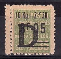 1938 - Colis Postaux N° 163 (Livraison Par Exprès) - Neuf * - Bord De Feuille - Neufs