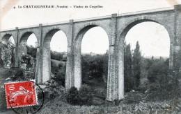 (D) 85  La Chataigneraie  Viaduc  De Coquillau - La Chataigneraie