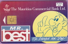 Ile Maurice °° 9 - Mr Best Ma Banque Non-stop - 55 Unités :: Emergency Card * T B E