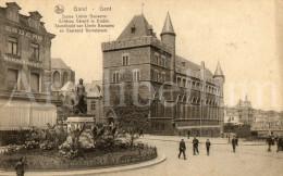 Postkaart / Postcard / CPA / Gent / Gand / Standbeeld Van Lievin Bauwens En Duivelsteen / Nels, Ed. Ern. Thill No 52 - Gent