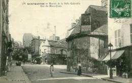 PARIS XVIII 18 Montmartre - Manoir De La Belle Gabrielle Rue Du Mont Cenis - District 18