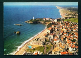 FRANCE  -  Biarritz  View With Lighthouse  Used Postcard As Scans - Biarritz