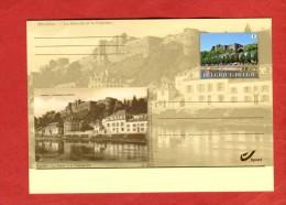 Belgique Entier Postal Illustré Neuf 2013 Vue De BOUILLON La Semois Et Le Château Fort - Cartes Postales [1951-..]