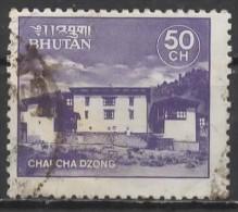 BHUTAN 1984 Monasteries - 50ch Chapcha Dzong FU - Bhutan