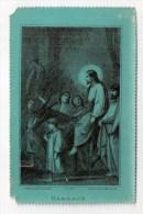 Les Rameaux, Jésus Sur Un âne, Image Pieuse éd. J. Dopter Et Cie N° 33 - Images Religieuses