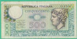 500 Lire - Italie - N°. 512518 -  TB+ - 500 Lire