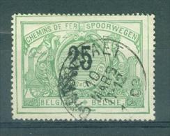 """BELGIE - OBP Nr TR 18 -  Cachet  """"BRASSCHAET"""" - (ref. AD-877) - Chemins De Fer"""