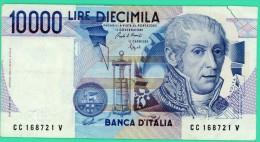 10 000 Lire - Italie - N° CC168721 V - Comme Sup Mais Coupure En Haut à Droite - [ 2] 1946-… : Républic