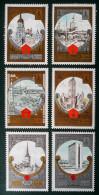 TOURISME SUIVANT L'ITINERAIRE DE LA CEINTURE D'OR 1980 - NEUFS ** - YT 4688/93 - MI 4959/54 - 1923-1991 USSR