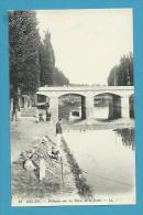 CPA 19 - Pêcheurs Sur Les Bords De La Seine MELUN 77 - Melun