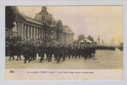 Belgische Poilus In Parijs 14.07.1916 - Guerre 1914-18