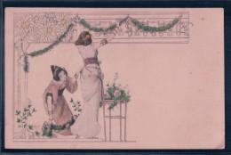 Femmes Japonnaises Et Fleurs, Art Nouveau, Litho (MMV 432) - Kirchner, Raphael