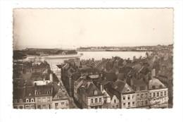 CPA 62 CALAIS Vue Sur Le Port 1951 - Immeubles - Port - Calais