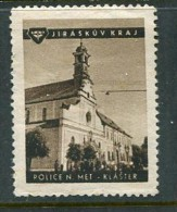"""Jiraskuv Kraj Police N Met Klaster Poster Stamp Vignette Label Never Hinged 1 3/8 X 1 3/4"""" - Cinderellas"""