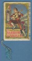 CALENDARIO 1958 IL BARBIERE DI SIVIGLIA - GIUSEPPE GIOVANNINI E FIGLIO BARBIERI IN BORGO S.LORENZO - Calendari