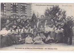 Cpa-22-saint Brieuc-souvenir De La Fete De Ouest Eclair (ouest France)-estudiantina 28/02/1909-edi Hamonic - Saint-Brieuc