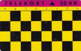 Denmark, JS 012, Chess Game H - A, 2 Scans. - Denmark