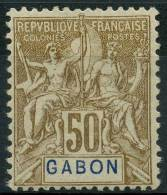 Gabon (1904) N 28 * (charniere)
