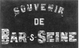 CPA 10 SOUVENIR DE  BAR SUR SEINE - Bar-sur-Seine