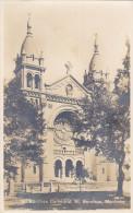 St Boniface Manitoba - St Boniface Cathedral Real Photo Postcard - Manitoba