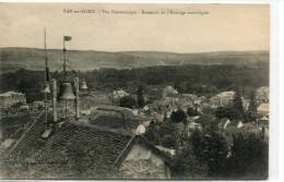 CPA 10  BAR SUR SEINE VUE PANORAMIQUE SONNERIE DE L HORLOGE MUNICIPALE - Bar-sur-Seine